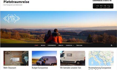 Startseite Homepage