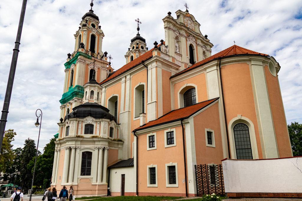 St. Catherine´s Kirche seite