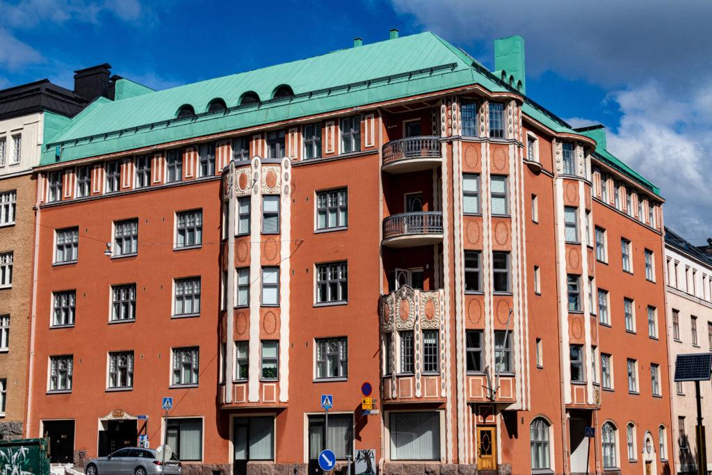 Straßen von Helsinki