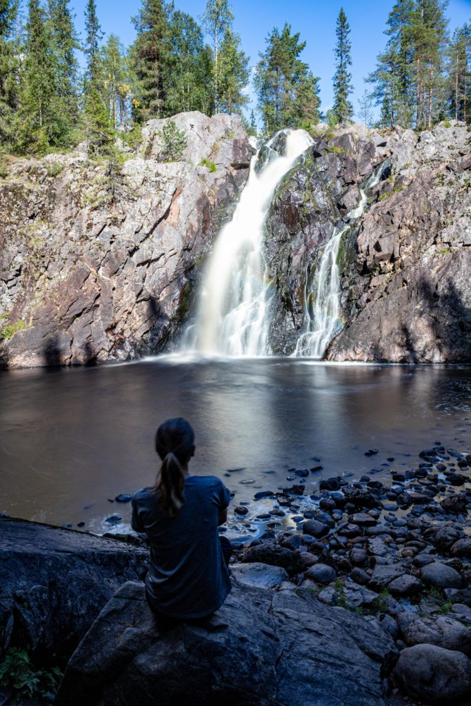 Hepoköngäs Wasserfall
