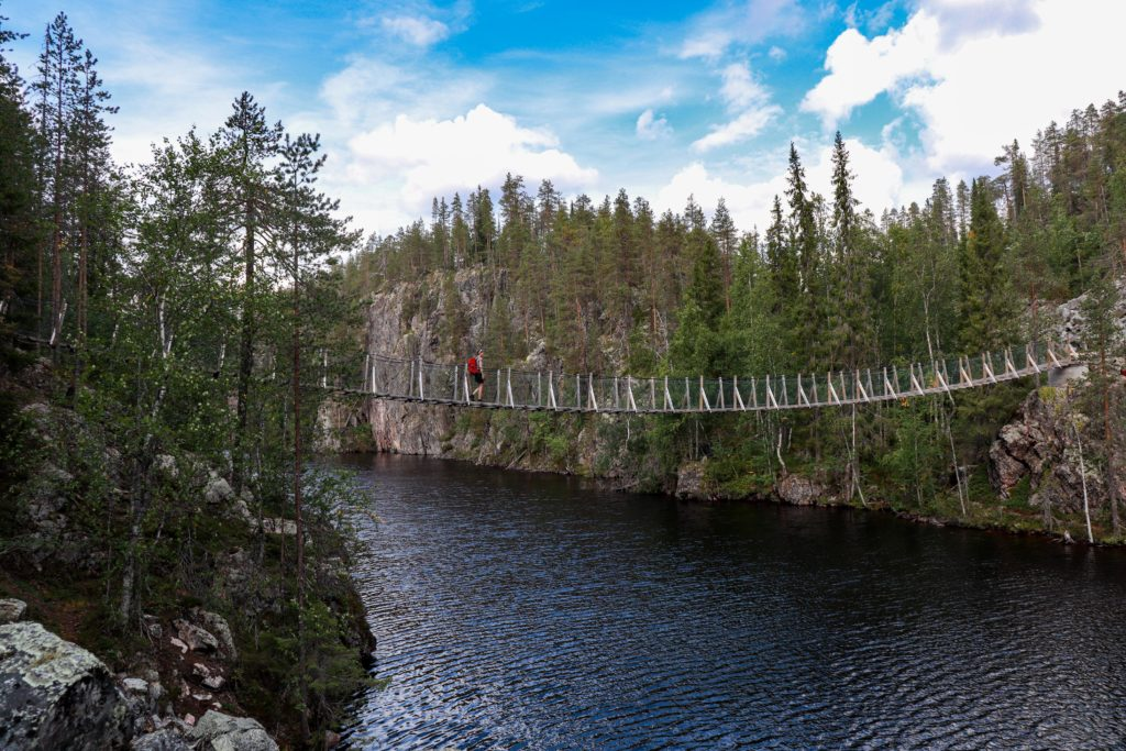 Hängebrücke Hossa