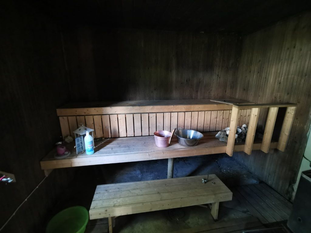 alte Sauna