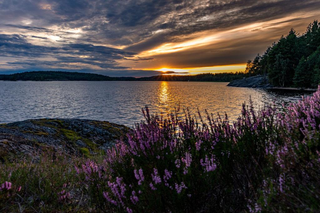 SonnenuntergangSaimmaSee