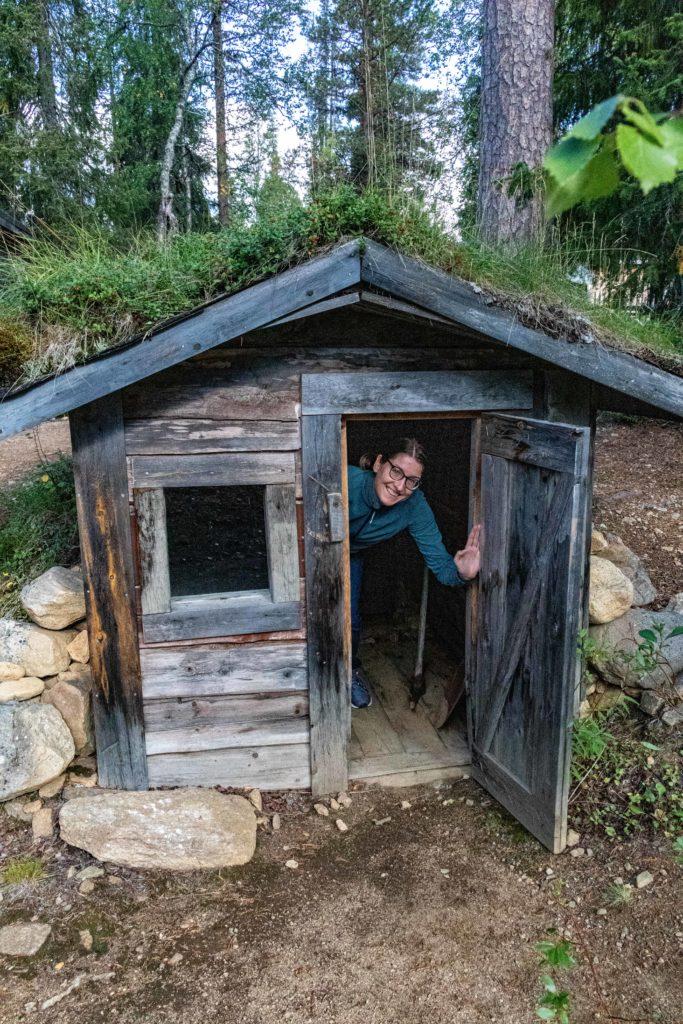 klein alte Sauna