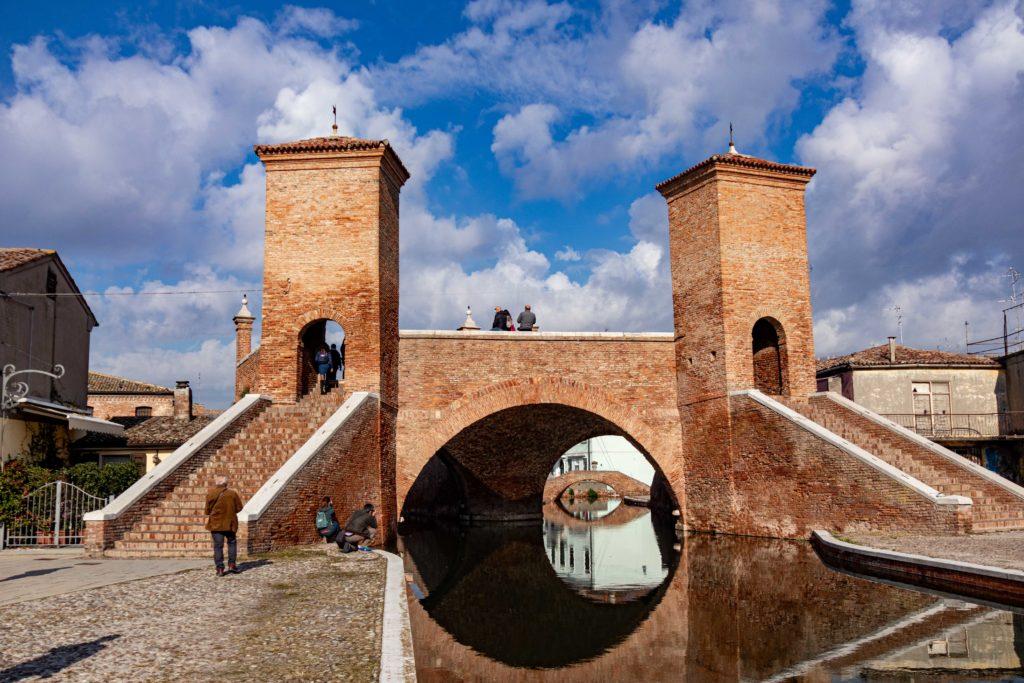 Die alte Brücke Trepponti
