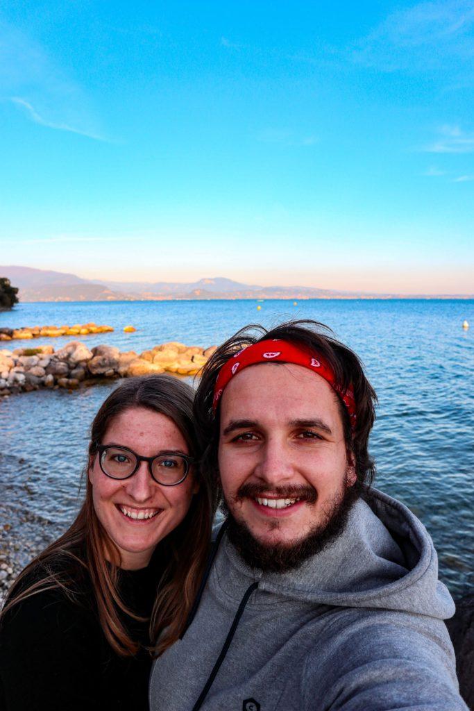 Glücklich in Italien