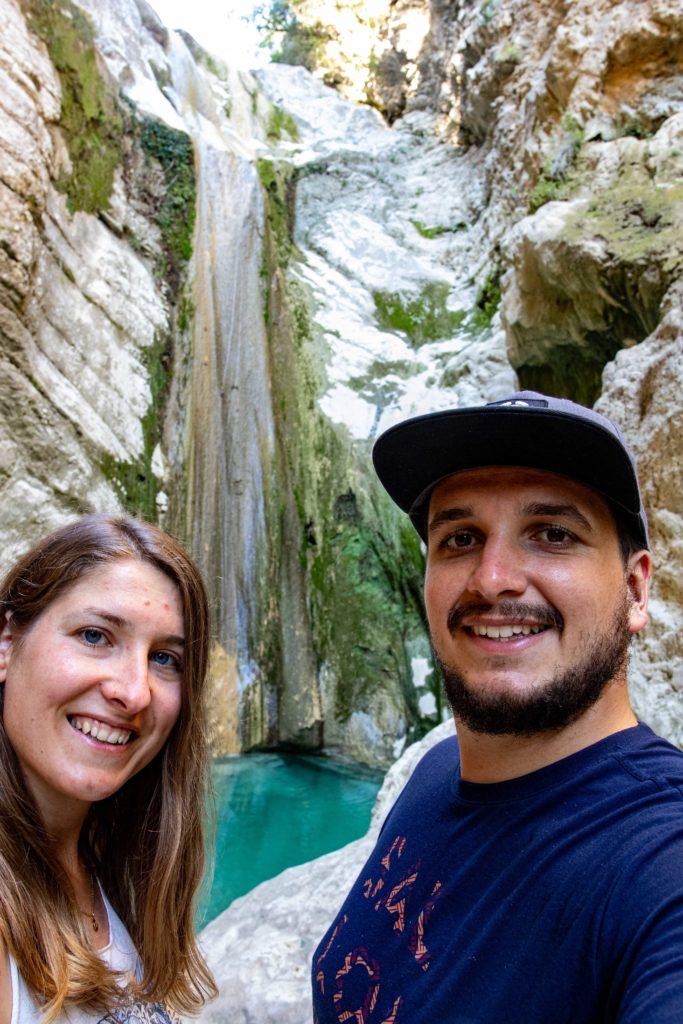 Wir und Nidri Wasserfall
