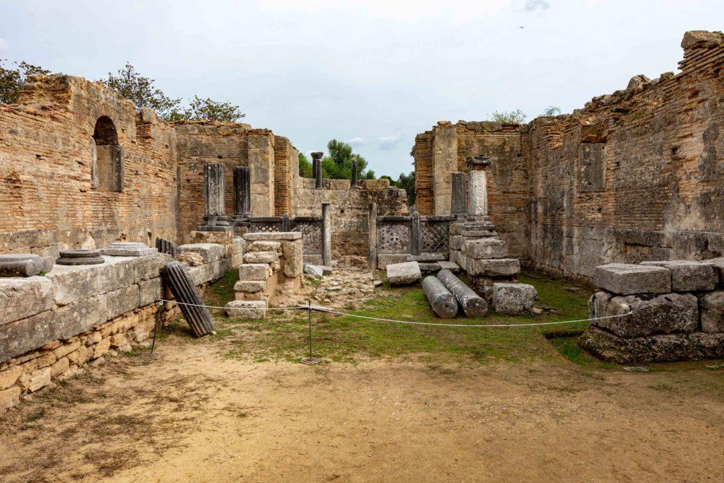 Gebäude Peloponnes