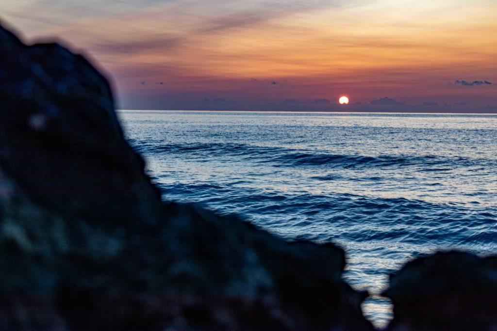 Sonnenuntergang Lefkada
