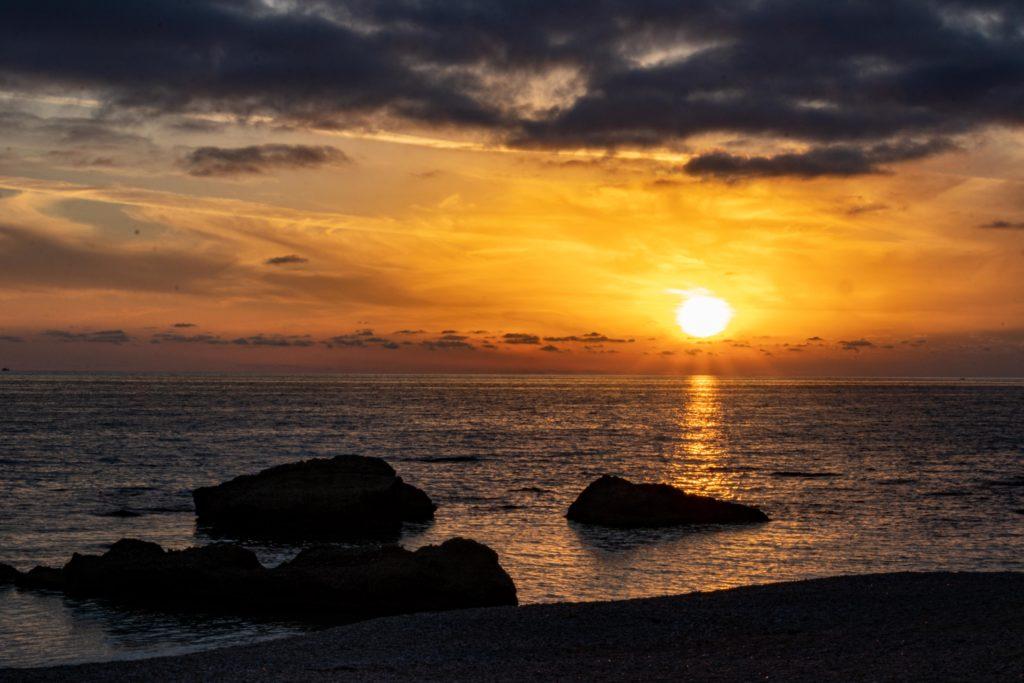 Sonnenuntergang Ligia