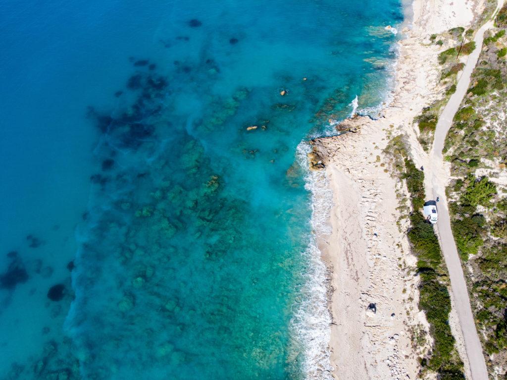 Drohne Avali Beach